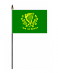 Erin Go Bragh Hand Flag - Small.